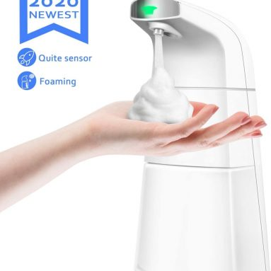 Automatic Soap Dispenser Foaming Touchless Electric ABS Infrared Motion Sensor