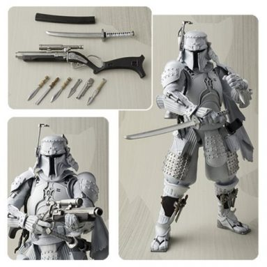 Star Wars Ronin Boba Fett Prototype Meisho Movie Realization Action Figure