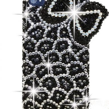 BLING LEOPARD Crystal Iphone 5 case/cover