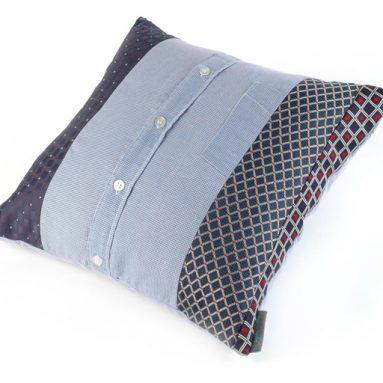 Shirt + Tie Cushion