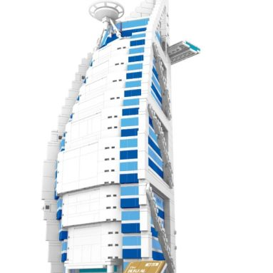 BURJ AL ARAB hotel of Dubai BUILDING BLOCKS