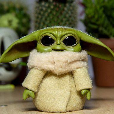 Baby Yoda Doll FANART