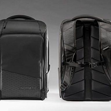 Backpack- Slim Black Water Resistant Anti-Theft