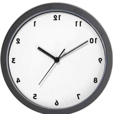 Backwards Wall Clock