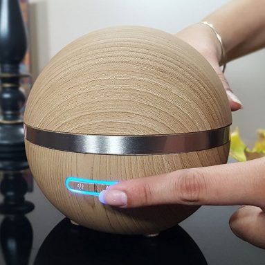 Bamboo Wood Aromatherapy Essential Oil Diffuser