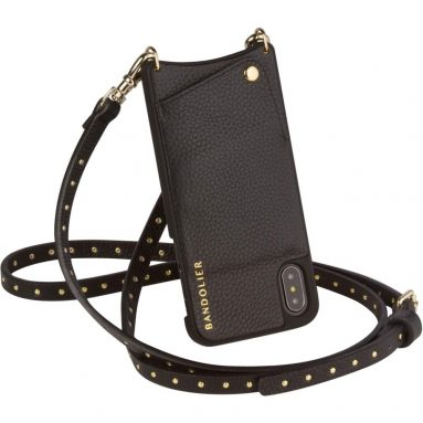 Bandolier [Nicole] Phone Case with Strap Compatible w/iPhone X & XS