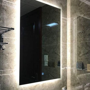 Bathroom Finger Touch Light Mirror