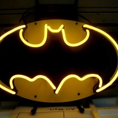 Batman Action Hero Beer Bar Neon Light