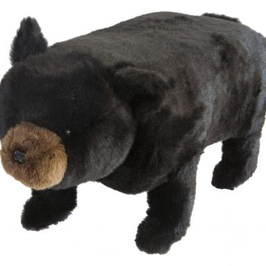 Bear Footstool with Storage