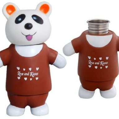Bear Shaped Stainless Steel Vacuum Bottle