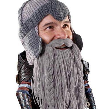 Beard Head Dwarf Warrior Beard Beanie