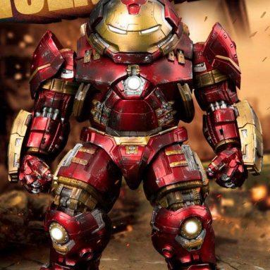 Beast Kingdom Avengers: Age of Ultron: Iron Man Hulkbuster EAA-100 Egg Attack Action Figure