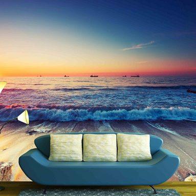 Beautiful Sunrise over the Horizon Wallpaper