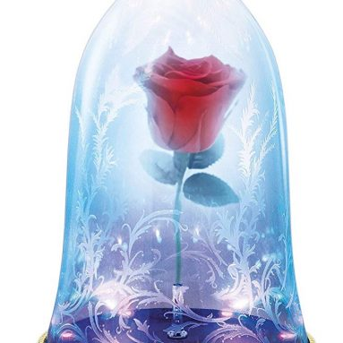 Beauty and The Beast Enchanted Rose Bluetooth Speaker LED Light
