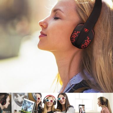 Bluetooth Headphones Wireless Foldable Noise Cancelling Over-ear Headset