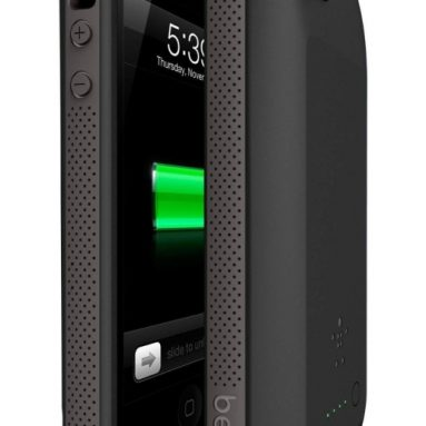 Belkin Grip Power Battery Case for iPhone 5