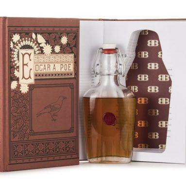 Bender Bound Edgar Allan Poe Booze Book with Hidden Flask