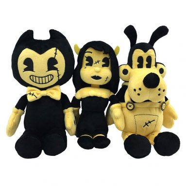 Bendy and the Ink Machine : Heavenly Toys Beanie Plush Bundle