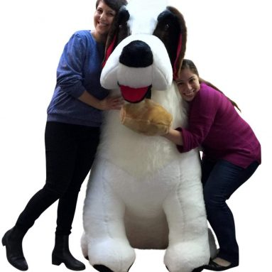 Big Plush American Made Huge Stuffed Saint Bernard