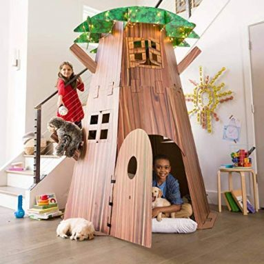 Big Tree Fort Building Kit for Kids