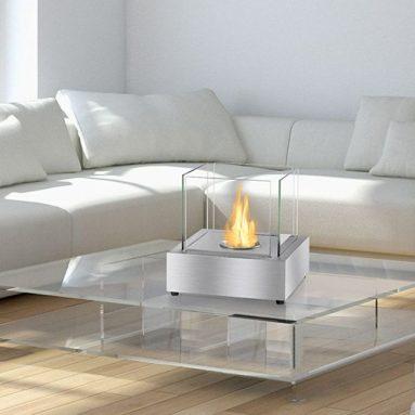 Bio Ethanol Fireplace Cube