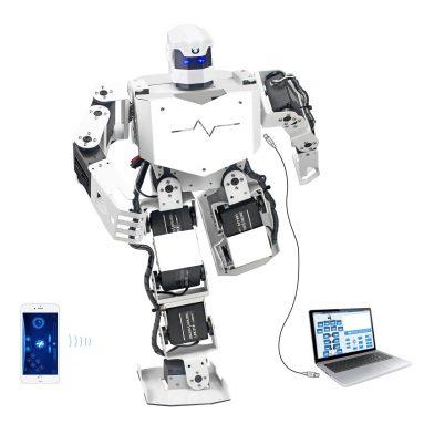 Biped Humanoid Robot Kit Free APP, MP3 Module