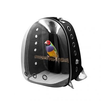 Bird Carrier Backpack Travel Cage