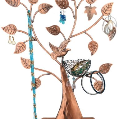 Bird Nest Holder Bracelets Necklace Organizer Stand