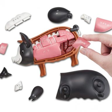 Black Pig demolition puzzle