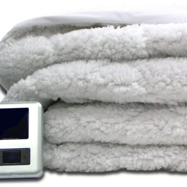 Blankets Sherpa Quilted Mattress Pad with Skirt