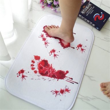 Bloody Shower Mat Bath Mat