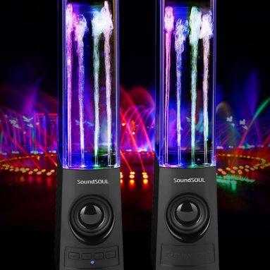 Bluetooth Dancing Water Speakers LED Speakers Wireless Water Fountain Speakers