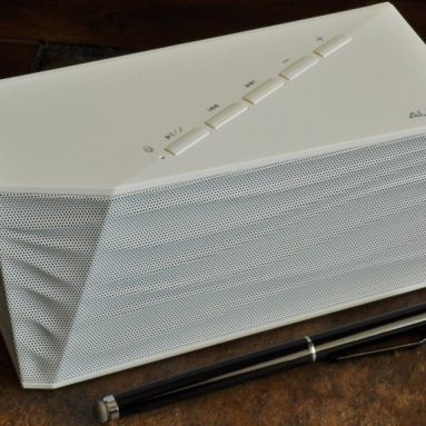 Bluetooth Portable Speaker With Bass Port, Built in Mic and Controls