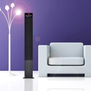 Bluetooth Wireless Streaming Tower Speaker System