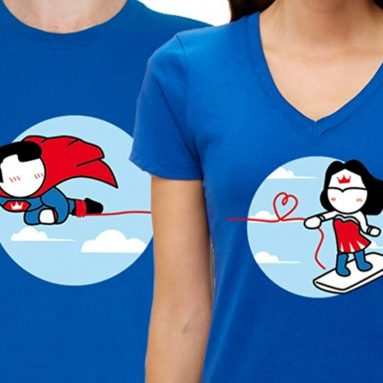 BoldLoft Made for Loving You His Hers Matching Couple Shirts