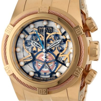 18k Gold Ion-Plated Stainless Steel Watch