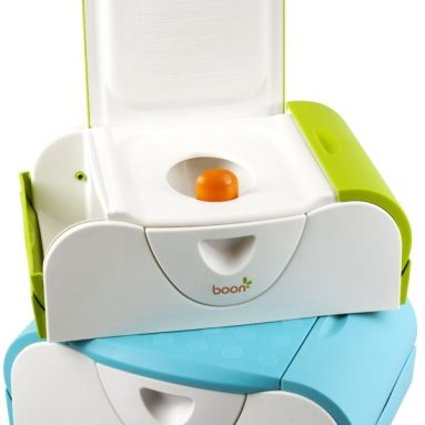 Bench Training Toilet with Side Storage