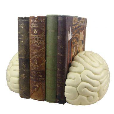 Brain Bookends