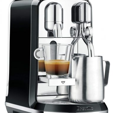 Breville Nespresso Creatista Single Serve Espresso Machine