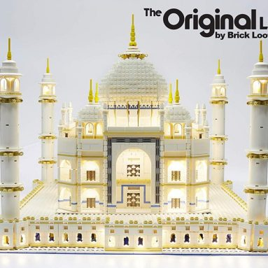 Brick Loot Deluxe Lighting Kit for Your Lego Set Taj Mahal