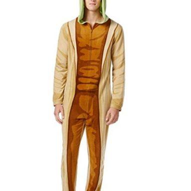 Yoda Costume Body Suit Pajama