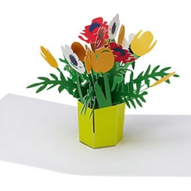 Brilliant Bouquet Pop-Up Note Card