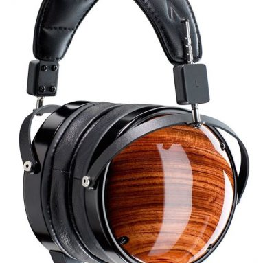 Bubinga Leather-Free Planar Magnetic Headphones