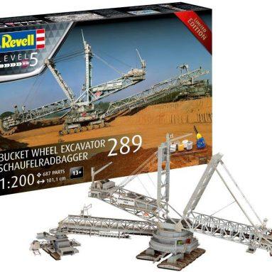 Bucket Wheel Excavator 289 Limited Edition 1:200 Model kit