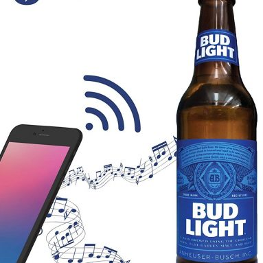 Budlight Bluetooth Bottle Speaker Authentic Design