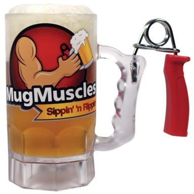 Build Your Muscles Beer Mug