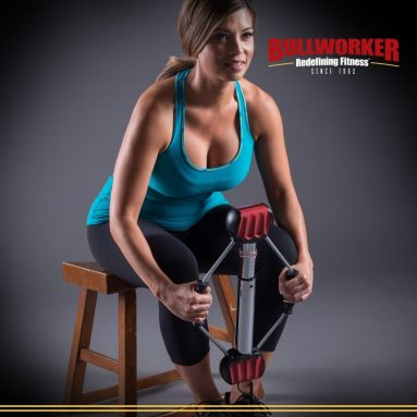 Bullworker 20″ Steel Bow – Full Body Workout – Portable Home Gym Isometric Exercise Equipment