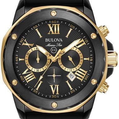 56% discount: Bulova Men's 44mm Marine Star Chronograph Watch