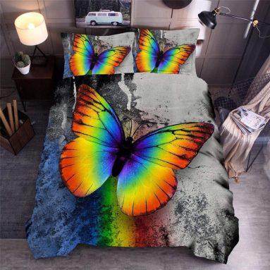Butterfly 3D Duvet Cover Set