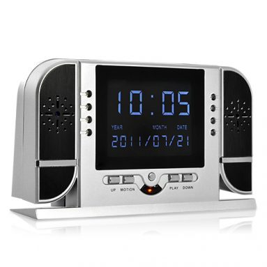 HD Spy Camera Alarm Clock